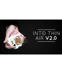 Into Thin Air 2.0 Red (DVD and Gimmick) by Sultan Orazaly - DVD