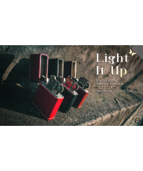 Limited Edition Light It Up Vigor Maroon (Gimmicks and Online Instructions) by SansMinds - Trick