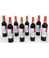 Multiplying Wine Bottles (8/ORANGE) by Tora Magic - Trick