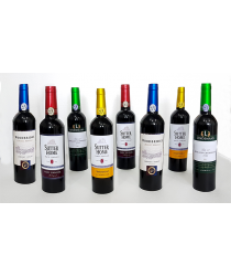 Multiplying Wine Bottles (8/COLOR) by Tora Magic - Trick