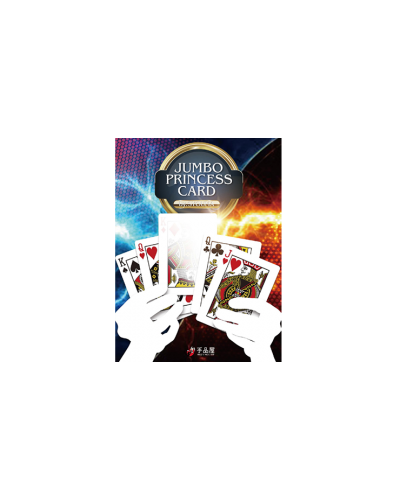 Jumbo Princess Card Trick by Tejinaya Magic - Trick