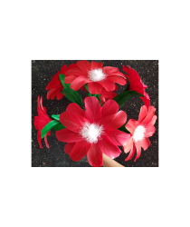 Red Flower (2 pack) by Black Magic - Trick
