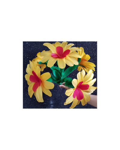Yellow Flower (2 pack) (No.2) by Black Magic - Trick