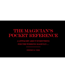 The Magician's Pocket Reference by Jorge Mena - Book