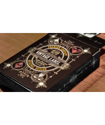 Vintage Label Playing Cards (Private Reserve White) by Craig Maidment
