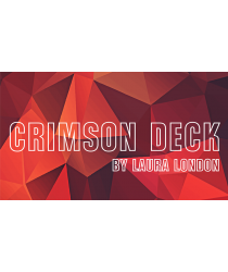 Crimson Deck (Gimmicks and Online Instructions) by Laura London and The Other Brothers - Trick