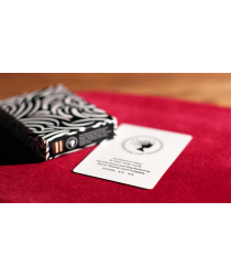 Turbulence (Black) Playing Cards