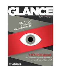 Glance ( 1 Magazines ) by Steve Thompson - Trick