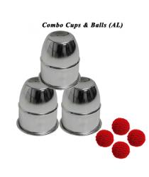 Combo Cups & Balls (AL) by Premium magic - Trick